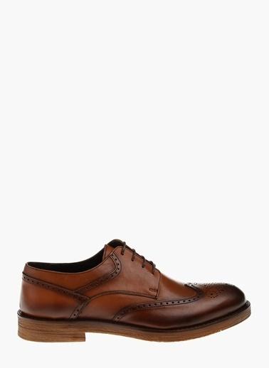 Divarese Deri Oxford Ayakkabı Taba